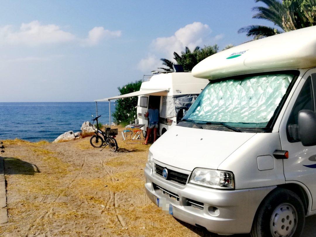 vivere in camper viaggiando