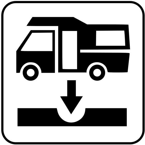 simbolo camper service