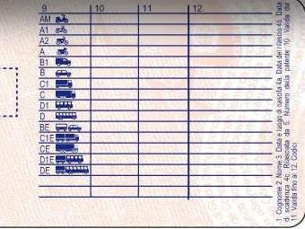 patente per guidare camper