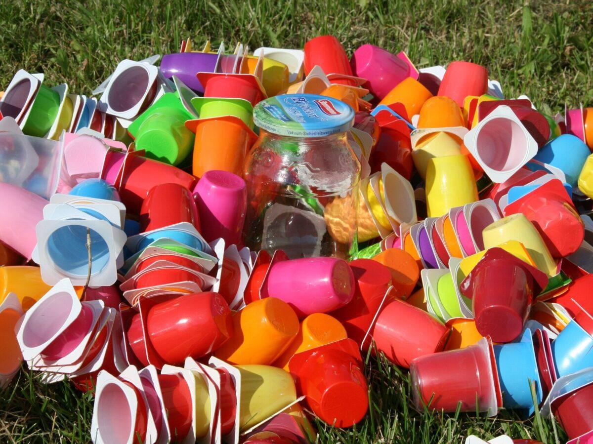 eliminare la plastica in camper