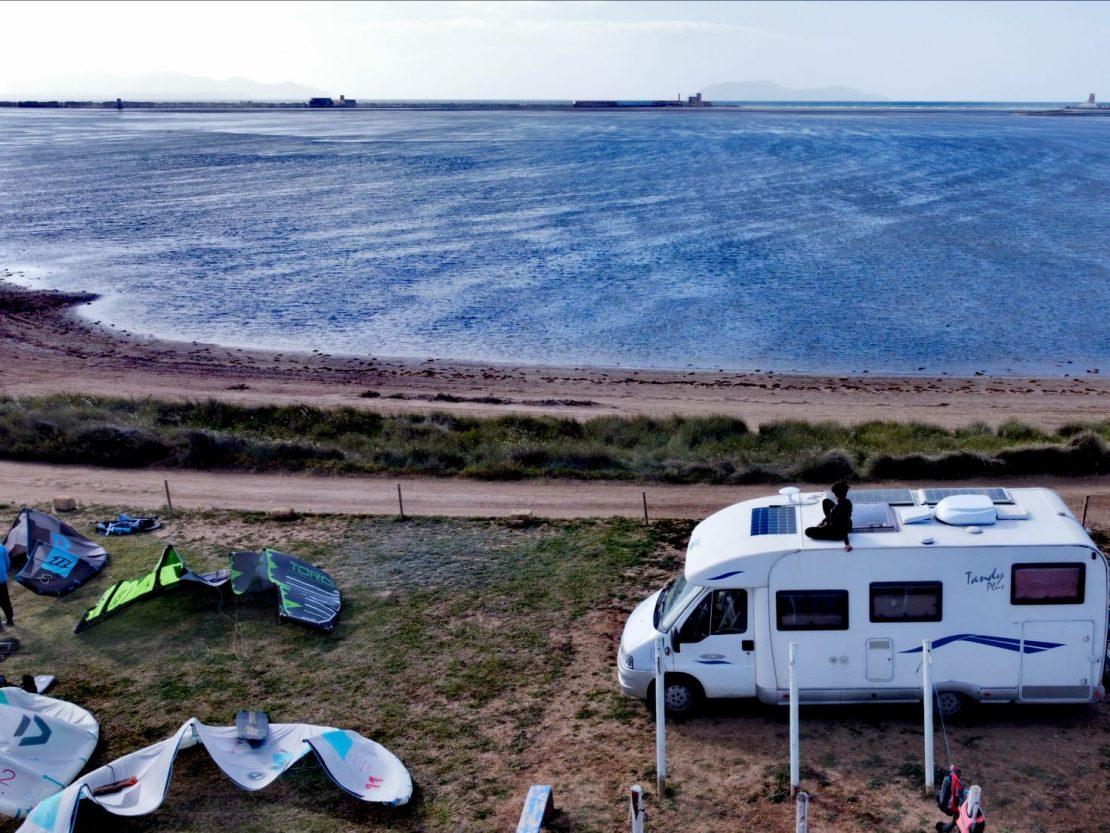 campeggio kitesurf
